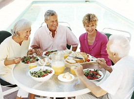 healthy senior living diet
