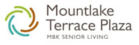 Mountlake Terrace Plaza in Washington State Logo