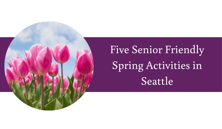 Five Senior Friendly Spring Activities in Seattle
